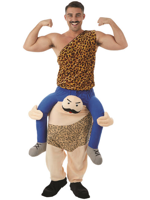 Adult's Strong Man Piggy Back Costume