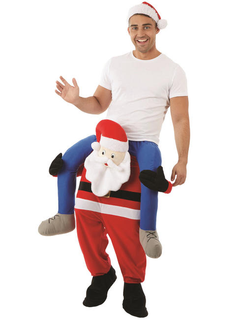 Adult's Santa Piggy Back Costume
