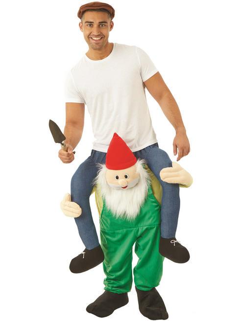 Adult's Gnome Piggy Back Costume
