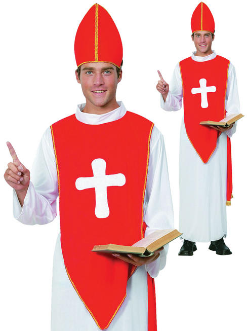 Men's Bishop Costume
