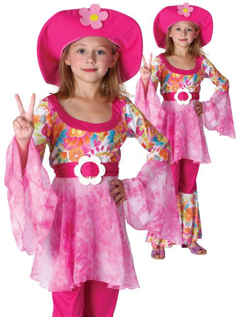 Girl's Hippy Diva Costume