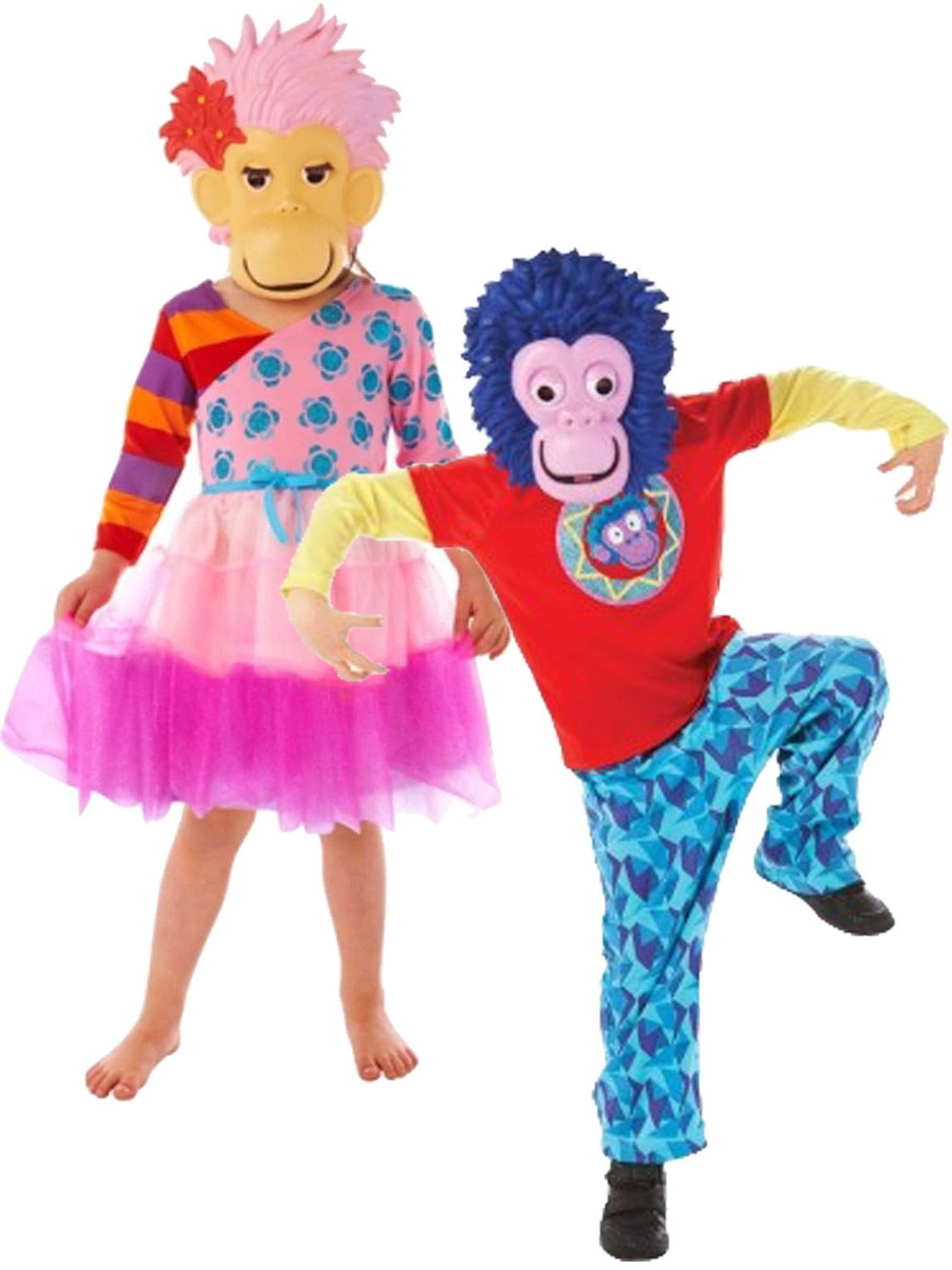 Child zingzillas costume boys girls zak panzee fancy dress kids book transform yourself into a zingzilla with either of these zak or panzee costumes ideal for book week solutioingenieria Images