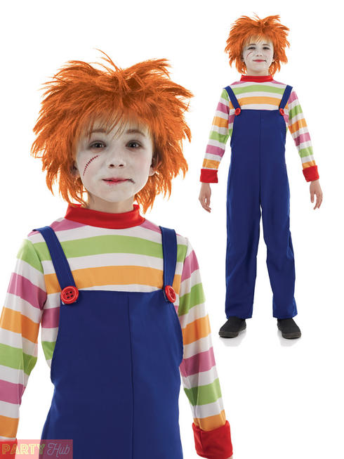 Boy's Evil Dummy Costume