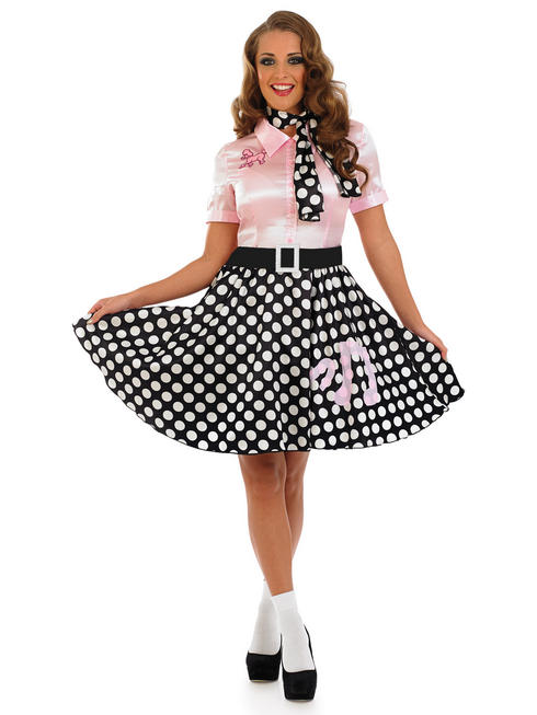 Ladies 50s Rock N Roll Costume