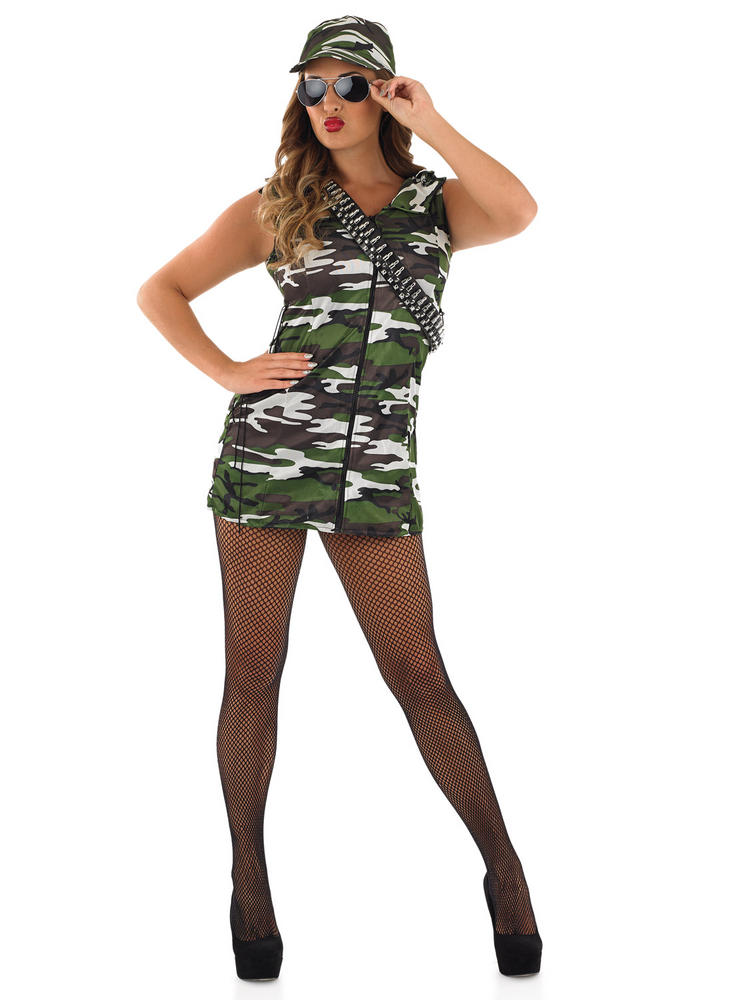 Ladies Army Girl Costume
