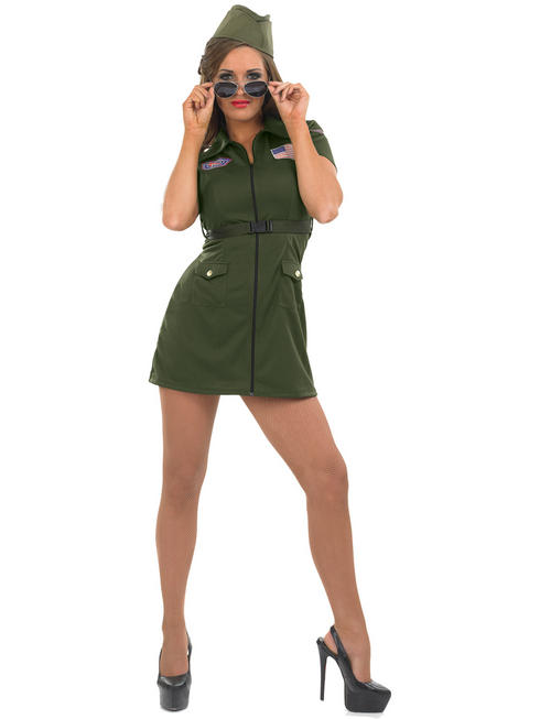Ladies Aviator Girl Costume