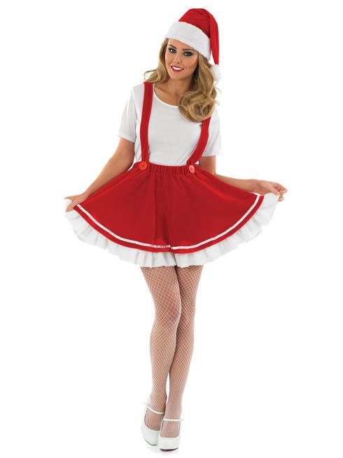 Ladies Christmas Gnome Costume