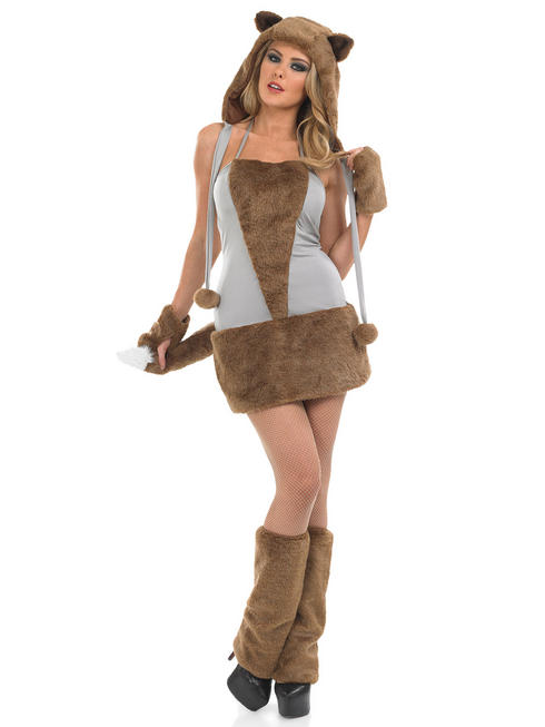 Ladies Lady Fox COSTUME