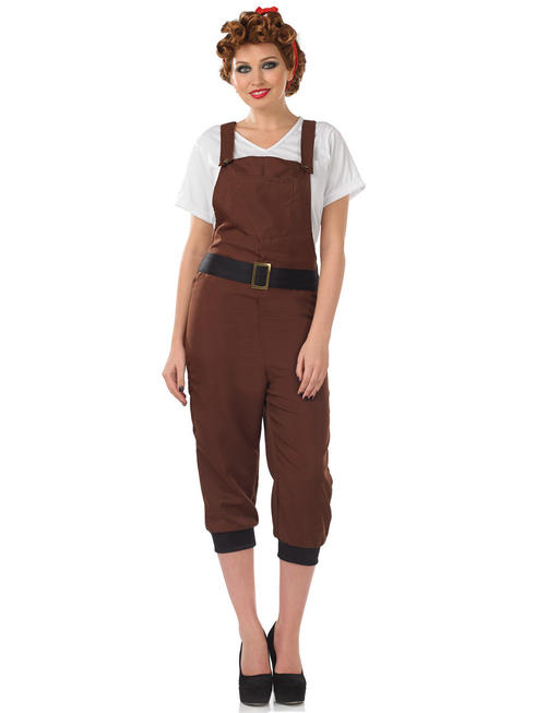 Ladies Land girl Costume