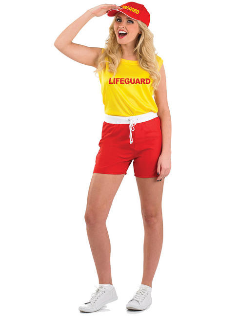 Ladies Lifeguard Costume