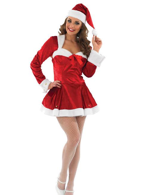 Ladies Missy Clause Costume