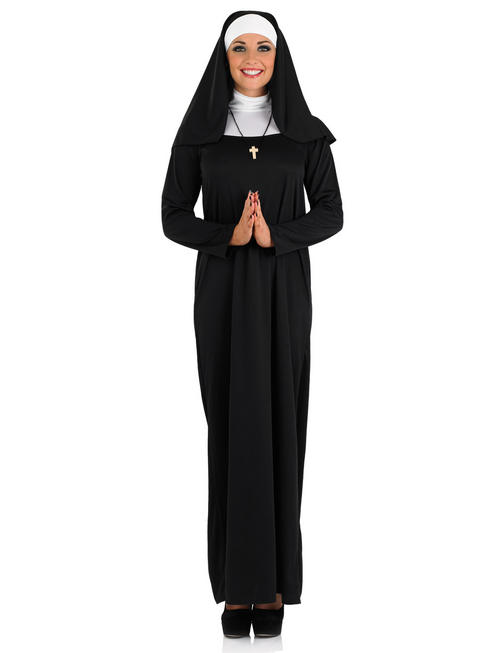 Ladies Nun Costume