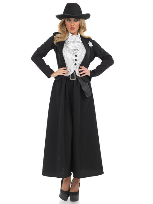Ladies Old Time Sheriff Costume