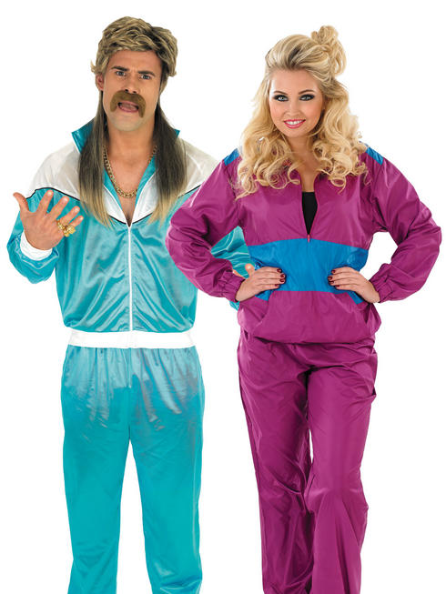 Adults Shell Suit Costume