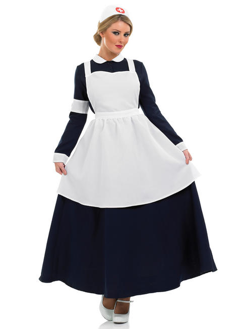 Ladies Victorian Nurse Costume