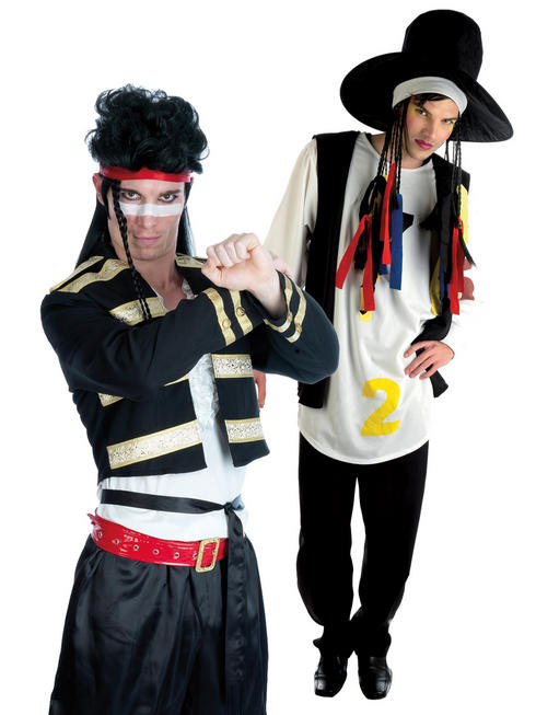 Men's 80s Singer Costume
