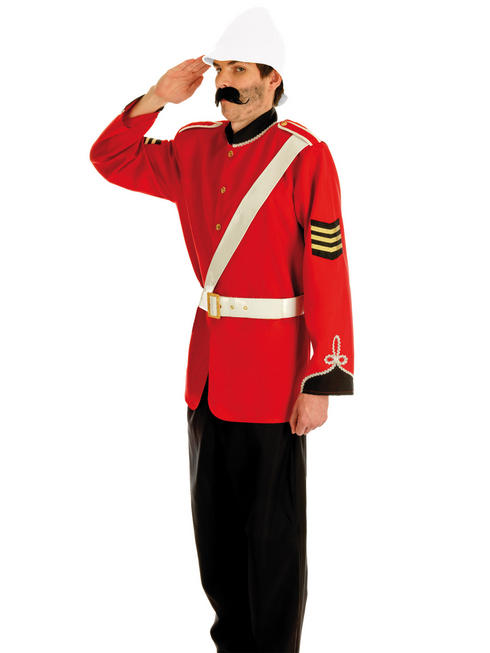 Men's Boer War British Soldier Costume