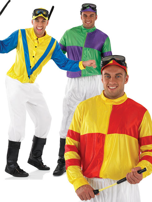 Men's Jockey Costume