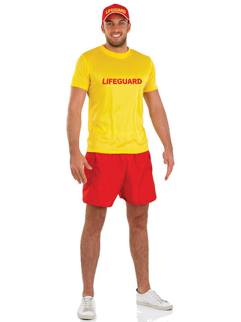 Men's Lifeguard Costume