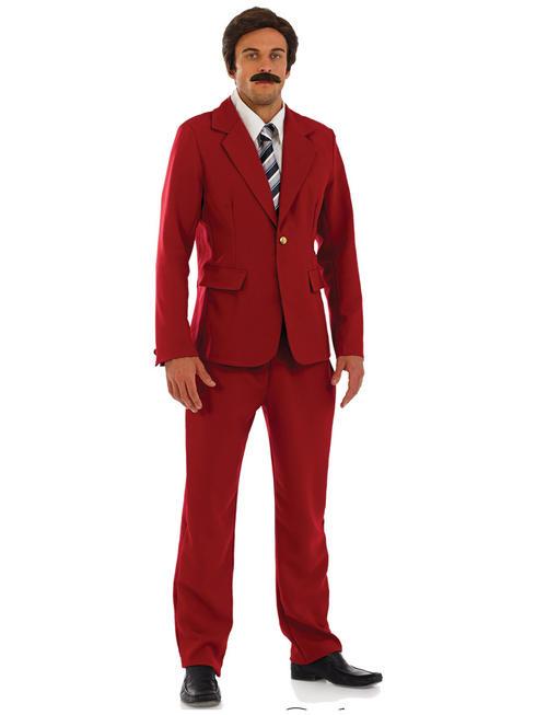 Men's Newsreader Costume