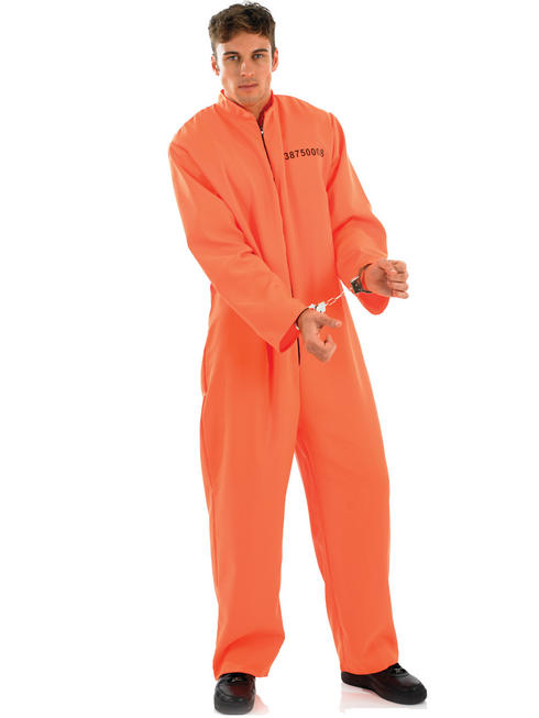 Men's Prisoner Costume