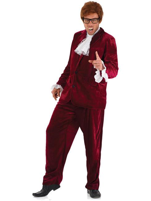Men's Red 60s Gigolo Costume