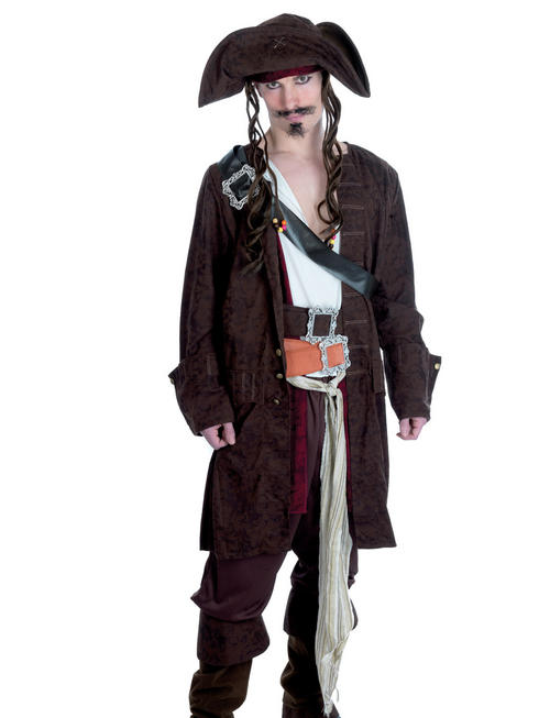Men's Rum Smuggler Pirate Costume