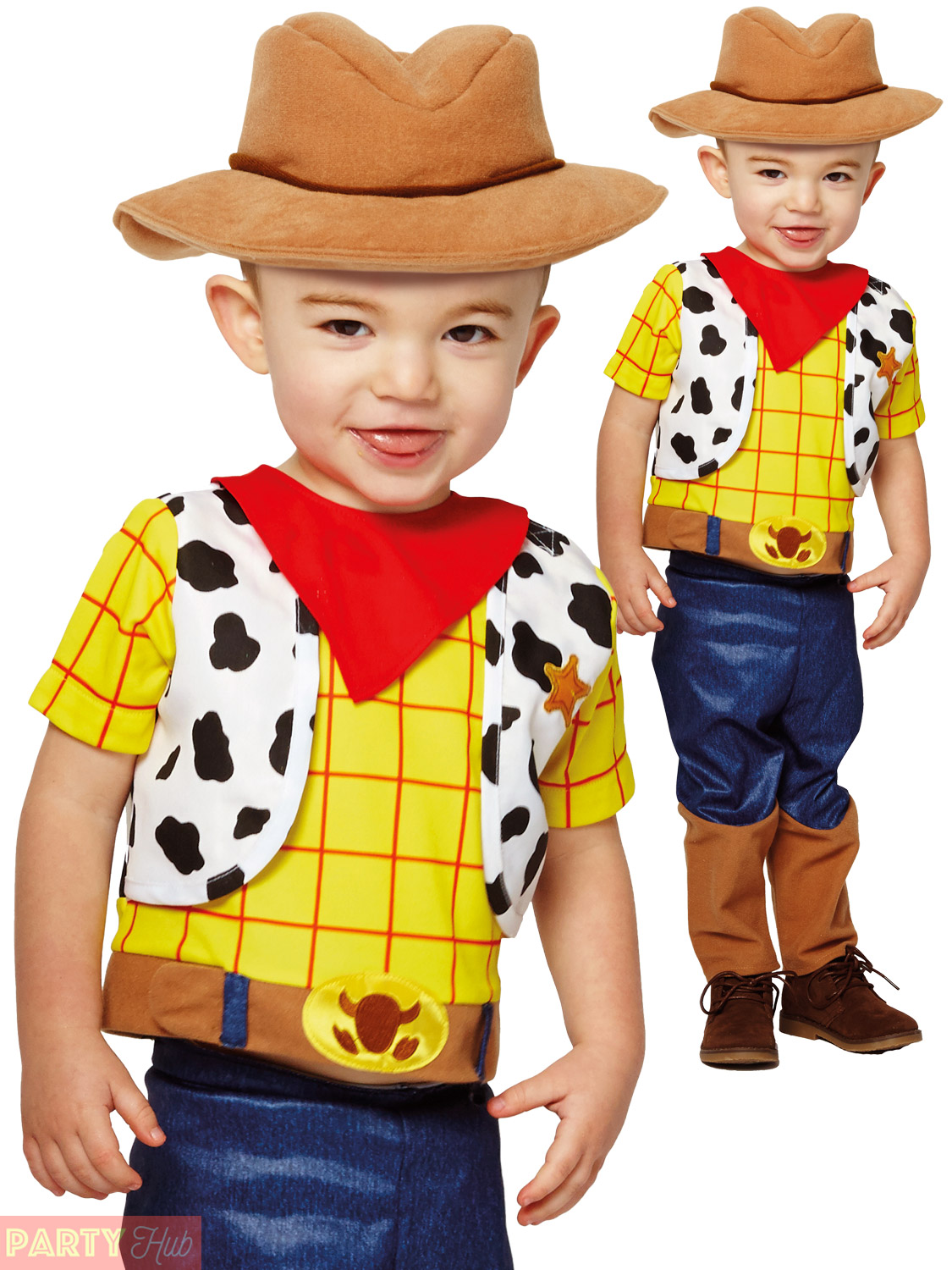 ... Picture 2 of 6 ...  sc 1 st  eBay & Disney Little Woody Toy Story Baby Fancy Dress Costume 12-18 Months ...