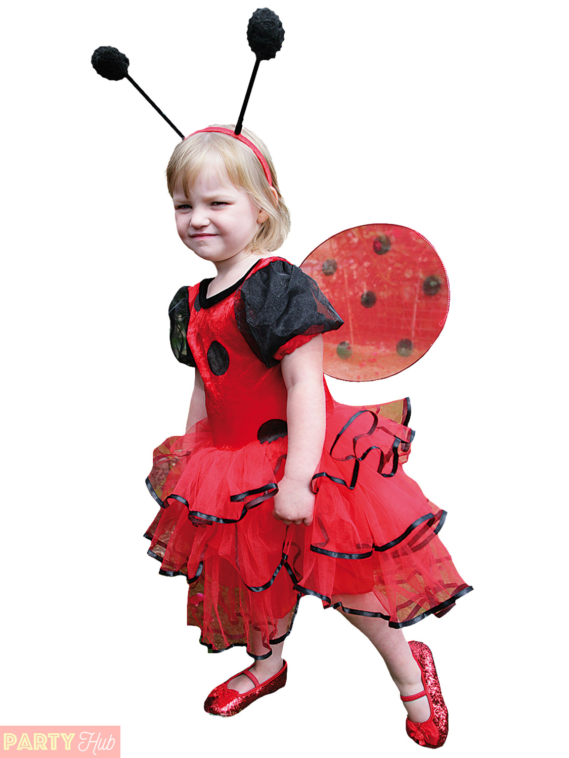 Girls Ladybird Bumble Bee Costume Child Toddler Fancy Dress Outfit