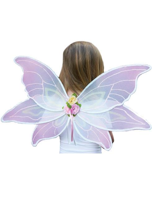 Girl's Travis Designs Fairy Set - Pink Sorbet Wings
