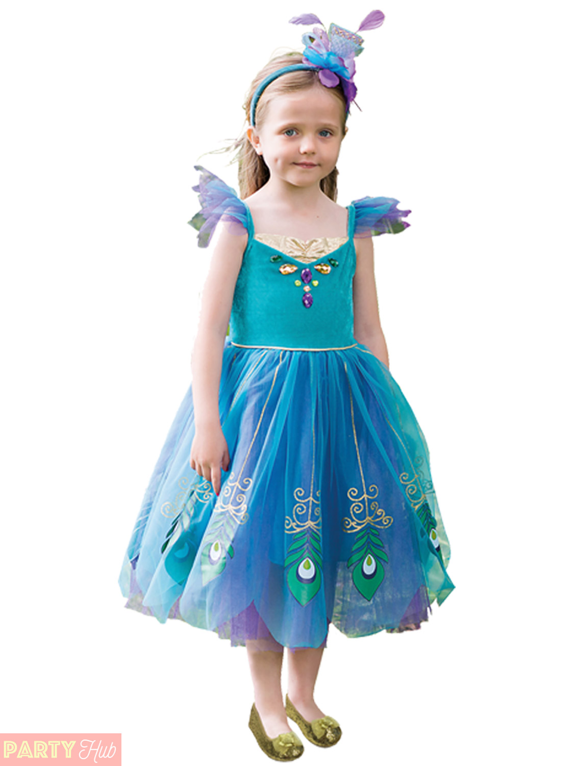 Girls Deluxe Fairy Costume Childs Toddlers Fairytale Fairies Fancy ...