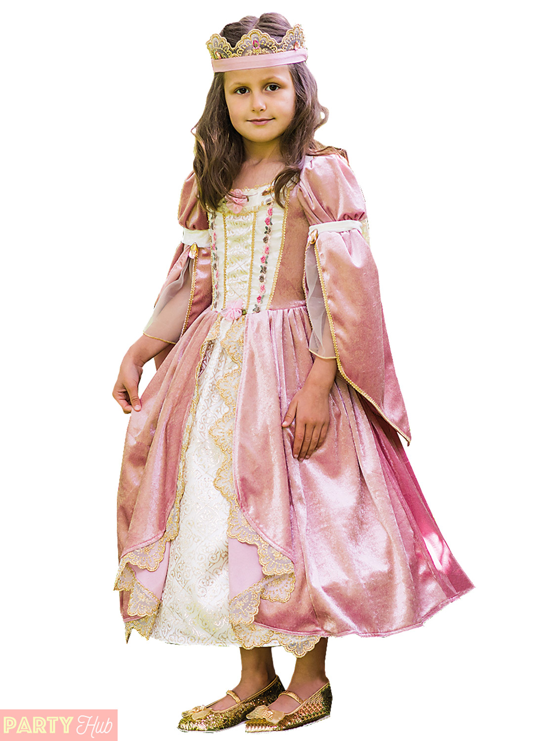 FANCY DRESS COSTUME VICTORIAN GIRL SMALL AGE 3-5