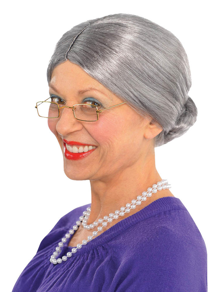 Ladies Old Lady Wig