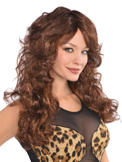 Ladies Brown Fabulous Wig
