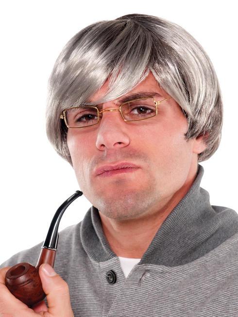 Men's Silver Fox Wig