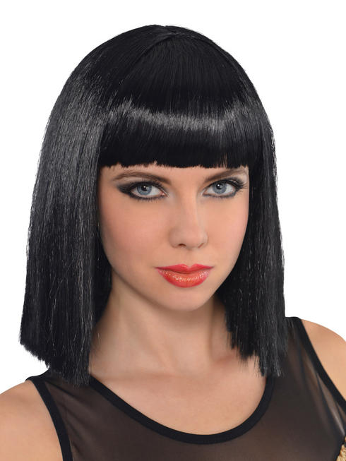 Ladies Black Bob Wig