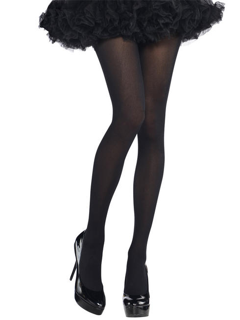 Ladies Black Plus Size Tights