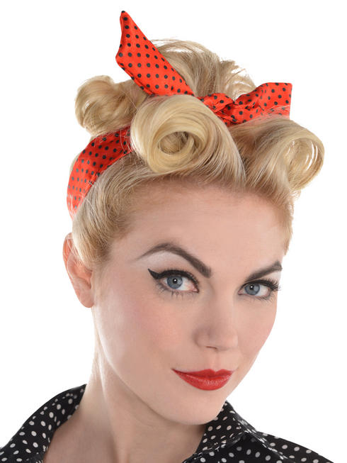 Ladies Rockabilly Headscarf