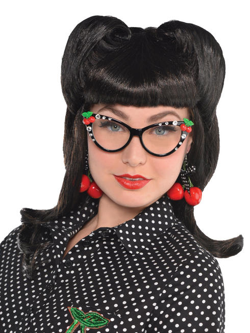 Ladies Rockabilly Victory Curls Wig