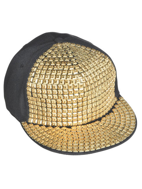 Adult's Hip Hop Bling Hat