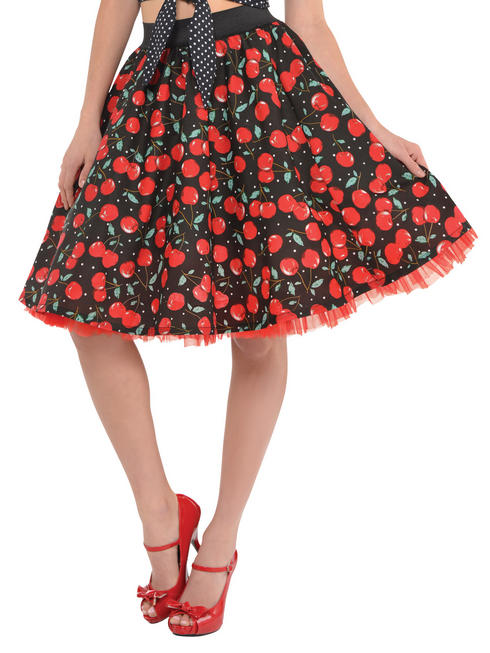 Ladies Rockabilly Skirt
