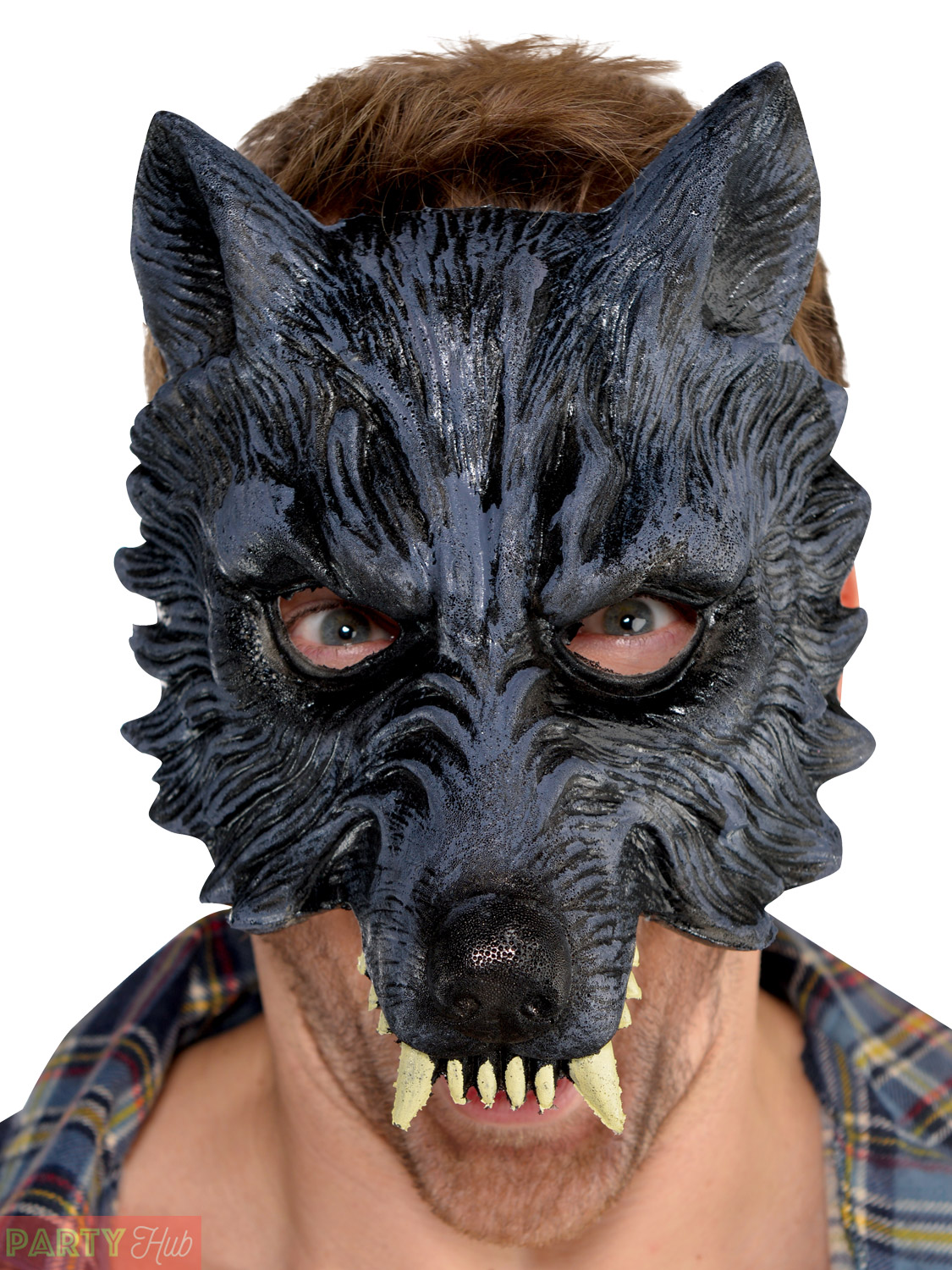 werewolf fancy dress wolf mask gloves latex mens