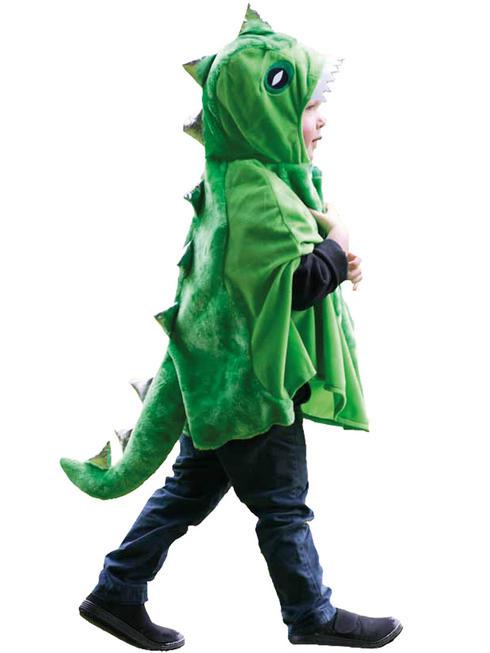 Boy's Travis Design Dinosaur Cape