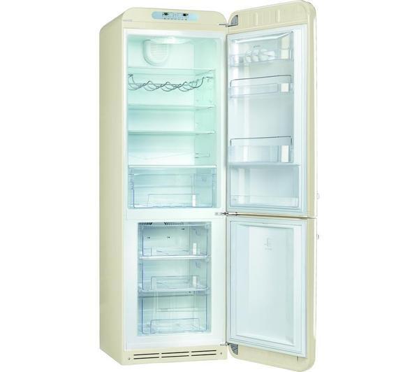 Sentinel Smeg Fab32rnc 70 30 Fridge Freezer Cream