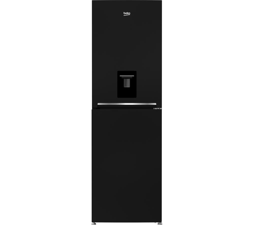 beko cfg1691db fridge freezer black currys 5023790037495 ebay. Black Bedroom Furniture Sets. Home Design Ideas