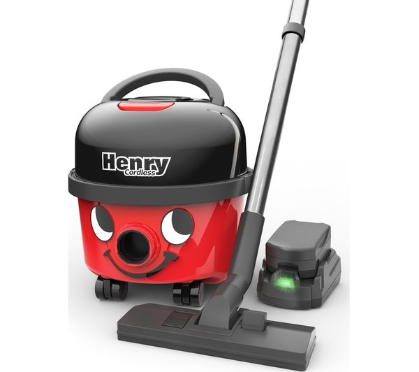 Numatic Henry Hoover Cordless Vacuum Cleaner Red