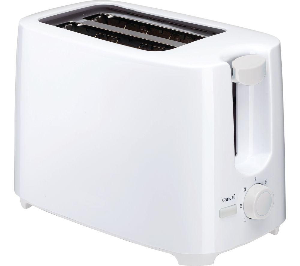 essentials c02tw17 2 slice toaster white currys ebay