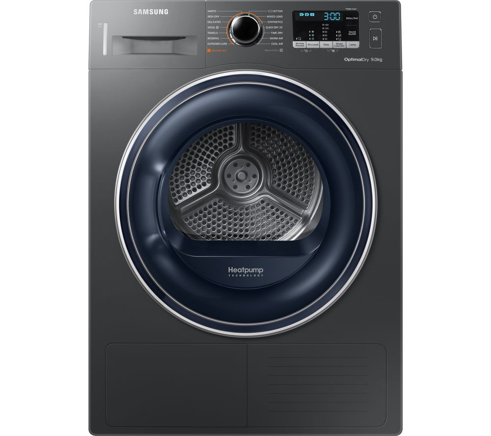 Samsung Dv90m50003x Eu 9 Kg Heat Pump Tumble Dryer