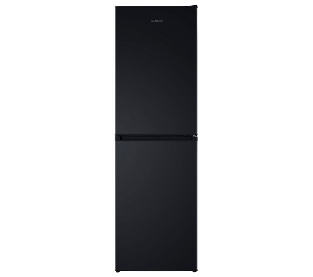 DAEWOO DFF470SB 50/50 Fridge Freezer - Black 5031117413723 | eBay