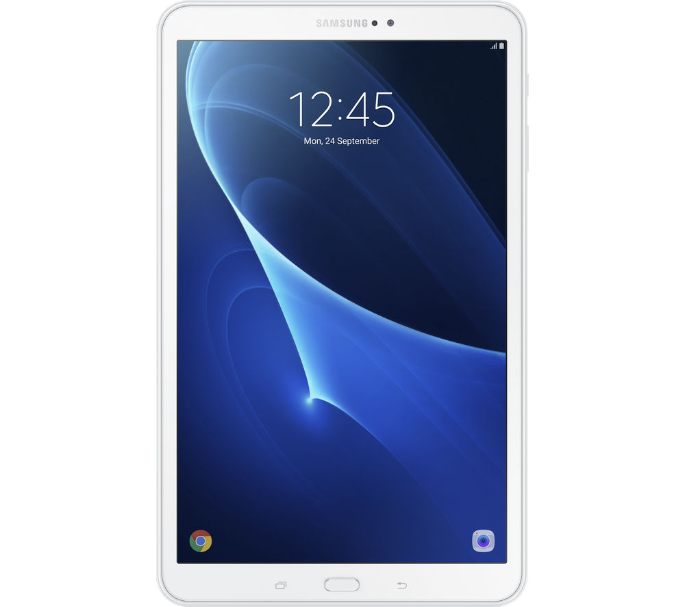 samsung galaxy tab a 10 1 tablet 16 gb white 8806088382685 ebay. Black Bedroom Furniture Sets. Home Design Ideas